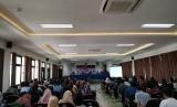 Diskusi bertema 'Transmisi Ideologi Gerakan Keislaman pada Civitas Akedemika Perguruan Tinggi di UGM dan UNY' di Fakultas Filsafat UGM, Kamis (22/3).