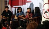 Diskusi perempuan dan politik di DPP Taruna Merah Putih