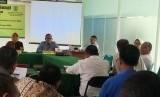 Diskusi yang digelar Program Magister Adminitrasi Publik Universitas Nasional, Jakarta, Senin (10/12), mengambil tema