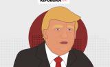 Trump 'Terpukul' Pemilu AS