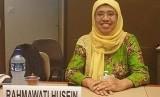 Wakil Ketua Muhammadiyah Disaster Management Center (MDMC),  Rahmawati Husein. aan PBB di Genewa, Rabu (26/6).