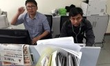 Dua wartawan Reuters yang ditahan di Myanmar Wa Lone (32 tahun) dan Kyaw Soe Oo (287).