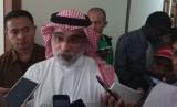 Dubes Saudi untuk Indonesia Osama bin Mohammed Abdullah al-Shuaibi.