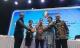 Due Diligence Meeting dan Public Expose PT MNC Vision Networks Tbk di Gedung MNC, Jakarta, Senin (17/6).