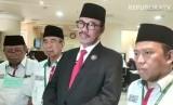Duta Besar Indonesia untuk Arab Saudi, Agus Maftuh Abegebriel (Kedua kanan)