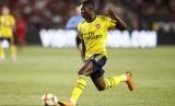 Eddie Nketiah, pemain muda Arsenal.