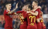Ekspreasi pemain AS Roma.