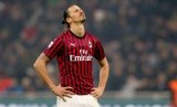 Penyerang veteran AC Milan, Zlatan Ibrahimovic.