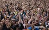 Ekspresi warga Katalunya setelah hasil voting parlemen lokal Katalunya memutuskan untuk mendeklarasikan kemerdekaan Republika Katalunya.