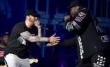 Eminem dan 50 Cent.