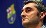 Mantan pelatih Barcelona Ernesto Valverde
