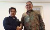 Fadli Zon (kanan) bersama Ketua Pemuda Hidayatullah, Imam Nawawi.