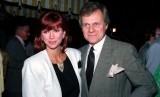 Foto 13 Juni 1986 ini memperlihatkan aktor Ken Kercheval, pemeran utama acara TV populer.