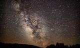 Galaksi bima sakti (ilustrasi)