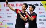 Ahsan/Hendra tak Sangka Kawinkan Dua Gelar Turnamen Besar