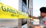 Garis polisi.   (ilustrasi)