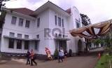 Gedung Bio Farma, di Jl Pasteur, Kota Bandung, Kamis (17/12). (Republika Edi Yusuf)