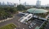 Gedung DPR di Kompleks Parlemen, Senayan, Jakarta. (Ilustrasi)