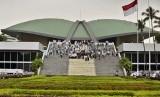 Gedung MPR/DPR/DPD di Kompleks Parlemen Senayan, Jakarta. (ilustrasi)