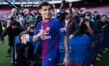 Gelandang Barcelona Philippe Coutinho.