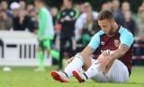 Gelandang West Ham United, Marko Arnautovic.