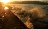 Gelombang Tinggi. BMG memperkirakan potensi gelombang tinggi di sejumlah perairan Tanah Air.
