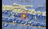 An earthquake measuring magnitude 6.7 hit Malang Regency, east Java, on Saturday.