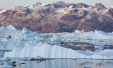 Gletser mencair (ilustrasi)