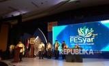 Pagelaran Festival Ekonomi Syariah (Fesyar) Regional Jawa 2018 di Ballroom Hotel Gumaya, Semarang, Jawa Tengah, Rabu (2/5). Fesyar tersebut merupakan bagian dari penyelenggaraan Indonesia Sharia Economic Forum (ISEF) di Surabaya pada Desember 2018.