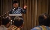 Gubernur Jawa Barat Ridwan Kamil menjadi pembicara sekaligus membuka kegiatan Diseminasi Strategi Nasional Pencegahan Korupsi di Bandung, Jawa Barat, Kamis (6/12/2018).