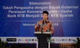 Gubernur Nusa Tenggara Barat (NTB) Tuan Guru Bajang (TGB) Muhammad Zainul Majdi.