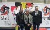 Hazel Ramadhan, siswa SD Bosowa Bina Insani, berhasil menjadi juara pertama lomba karate tingkat internasional di Belgia.