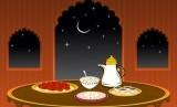 Hidangan saat Ramadhan (ilustrasi)