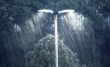 Hujan deras/ilustrasi