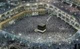 Ibadah haji di Makkah (ilustrasi)