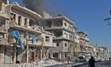 Turki menegaskan tidak ingin berhadapan dengan sekutu Suriah Rusia. Idlib, Suriah