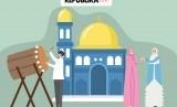 Penyalaan lampu hias Idul Fitri adalah tradisi rutin di Malaysia. Idul Fitri (ilustrasi)