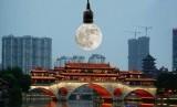 Ilmuwan Cina berencana mengirim 3 bulan tiruan ke angkasa dalam empat tahun mendatang.