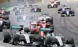 Ilustrasi balapan F1