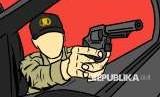 Ilustrasi Ditembak Polisi
