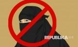 Wanita Muslim Austria Diludahidan Ditarik Jilbabnya