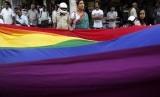 Ilustrasi komunitas LGBT