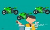 Ilustrasi Penjualan Motor