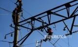Ilustrasi perbaikan jaringan listrik