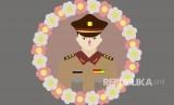 Ilustrasi Polisi gugur