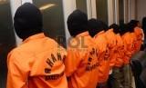Polda Metro Jaya meringkus tujuh anggota geng motor yang terkenal sadis di Bekasi, Jawa Barat (Foto: ilustrasi tersangka geng motor)