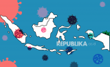 Ilustrasi virus corona masuk Indonesia