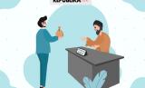 ilustrasi pembayaran zakat.