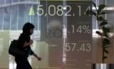 Indeks Harga Saham Gabungan (IHSG) di Bursa Efek Indonesia.  (ilustrasi)