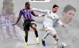 Infografis Laga Real Valladolid vs Real Madrid.